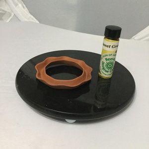 Terra Cotta Oil Ring & Pure Fragrance Oil
